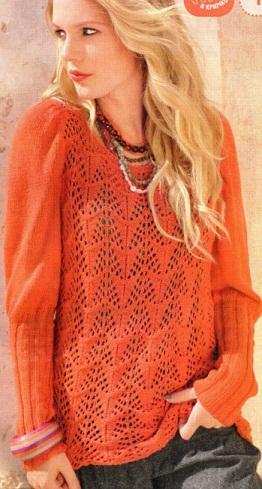 Схема пуловера